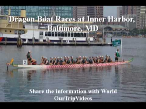 Pictures of Catholic Charities Dragon Boat Races at Inner Harbor, Baltimore, MD, US