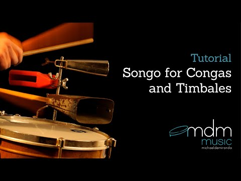 Songo for congas and timbales.mov