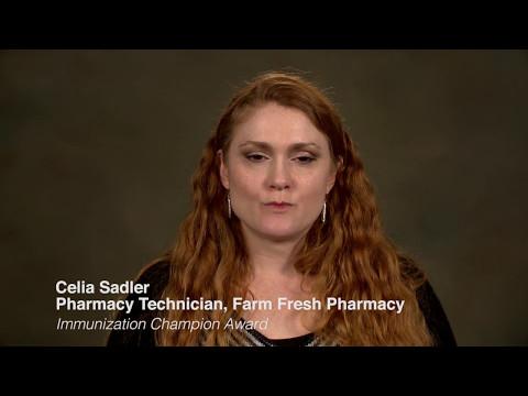 Celia Sadler: 2017 APhA Pharmacy Team Member National Winner