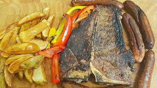 T-bone Steak Dinner   Steak Recipe's   How to cook a T-bone