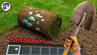 Майнкрафт от Первого Лица в Реальной Жизни Minecraft in Real Life POV Realistic Texture 創世神第一人稱真人版