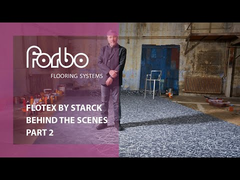 Forbo Flooring Systems and Philippe Starck behind the scenes