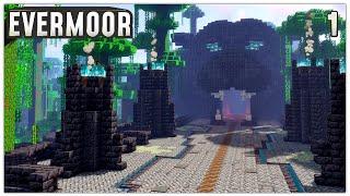 Minecraft Timelapse   Wild Jungle Base in Survival   Evermoor SMP #1