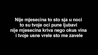 Toše Proeski-Mjesečina (LYRICS/TEKST/TEXT)