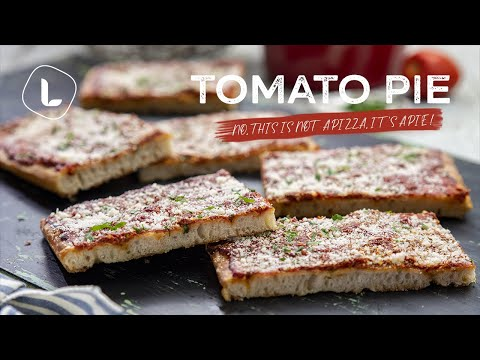Homemade Philly-Style Tomato Pie | Food Channel L Recipes