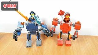 Lego Nexo Knight hiệp sĩ cưỡi cổ máy robot chiến đấu brick toy for kids đồ chơi trẻ em