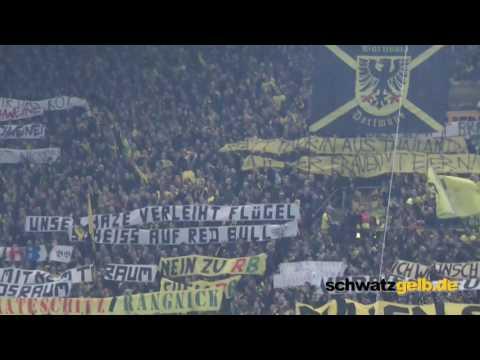 BVB - Leipzig 1-0 Stimmung 04.02.2017