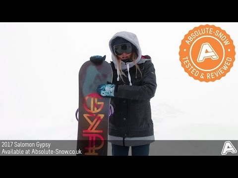 2016 / 2017 | Salomon Gypsy Snowboard | Video Review