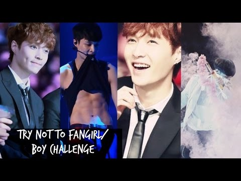 [Lay Version] Try not to fangirl/boy challenge