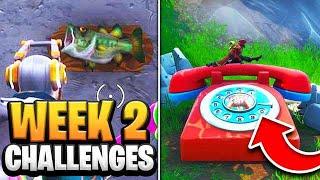 Fortnite Season 9 Week 2 Challenges GUIDE! How to Do Week 2 Challenges in Fortnite - Tutorial
