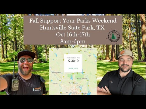 Support Your Parks Event   You're Invited!!