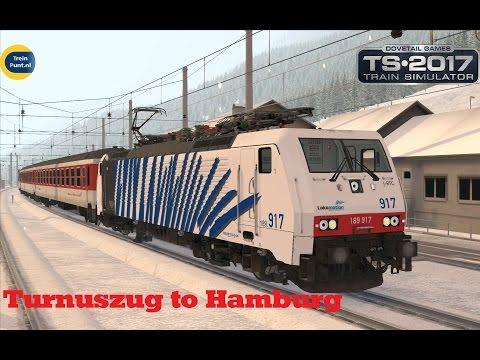 Turnuszug to Hamburg | vR BR189 917 Lokomotion | Train Simulator 2017