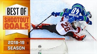 Best Shootout Goals from 2018-19