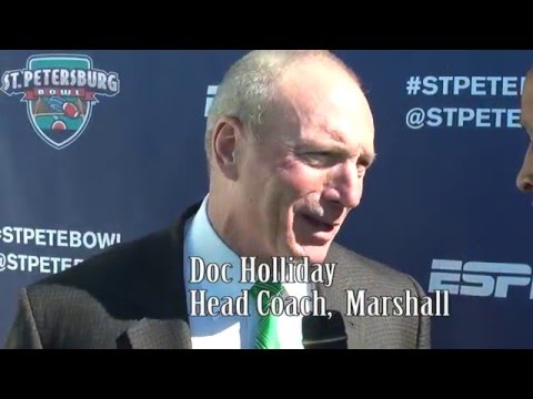 2015 America II Electronics St. Petersburg Bowl Press Conference