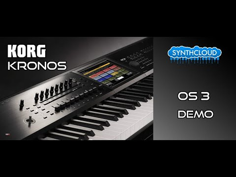 Korg Kronos os 3.0 demonstration by S4K ( kronos 2 2015 )
