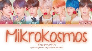 BTS (방탄소년단) - Mikrokosmos (소우주) (Color Coded Lyrics Eng/Rom/Han/가사)