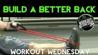 2 Simple OTR Workouts for a Ripped Back - Workout Wednesday