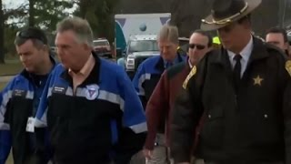 AP-Virginia Governor visits tornado hit areas in Waverly..