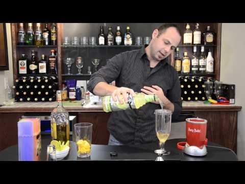 Frozen Mango Margarita Cocktail Recipe | Mango Margarita Slushy