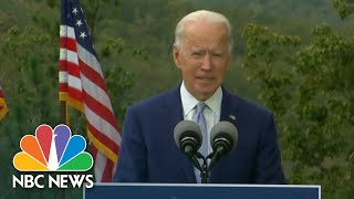 Biden Delivers Message Of Unity At Georgia Rally | NBC Nightly News