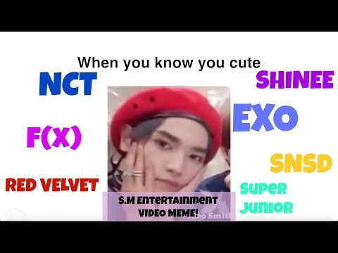 S.M. Entertainment Video Memes (EXO, NCT, f(x), Red Velvet, SNSD, SHINee, Super Junior)