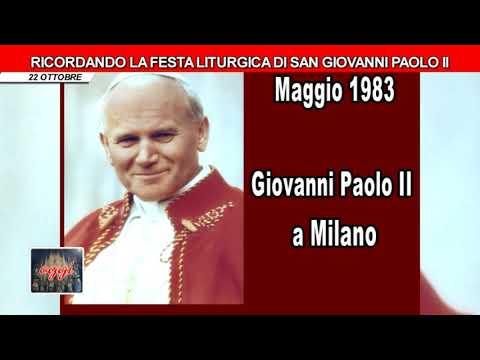 Festa liturgica di San Giovanni Paolo II