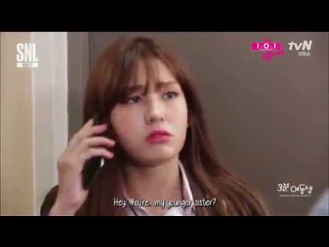 (ENG SUB) IOI-3 Minute Younger Sister SNL  Cuts