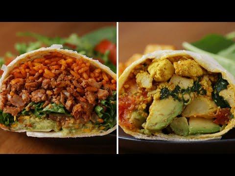 How To Make Meatless Burritos With Tofu And Cauliflower ? Tasty