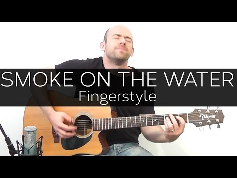 Baixar Smoke on the water (Deep Purple) - Acoustic Guitar Solo Cover (Violão Fingerstyle)