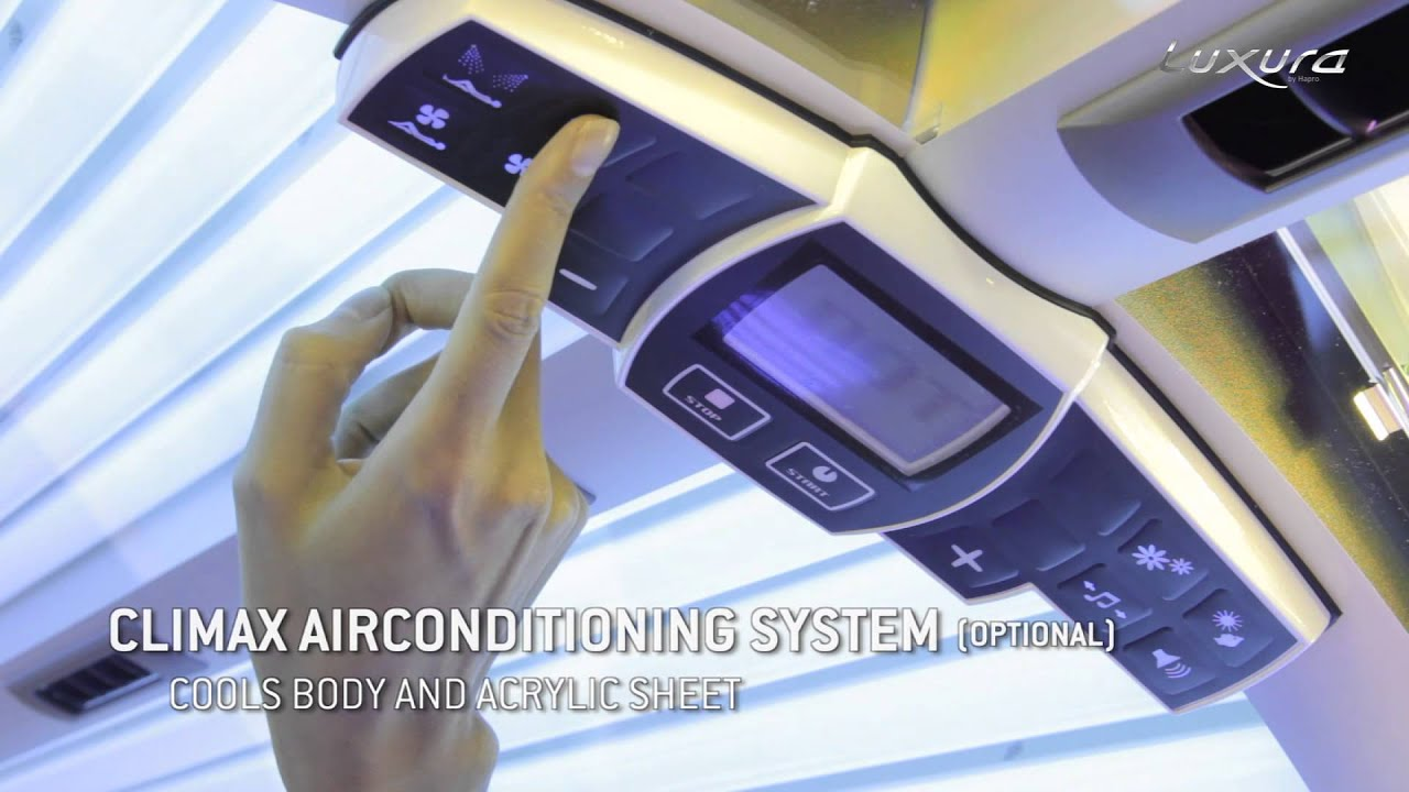 Prosun Tanning Bed Luxura X10 from Prosun - YouTube