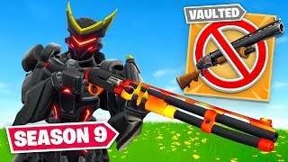 They VAULTED the Pump Shotgun For THIS... (Fortnite Season 9)