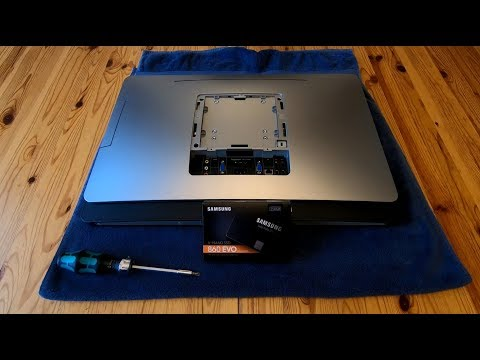 DELL Inspiron One 2330 HDD Upgrade and Replacement *HOW TO* Guide