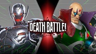 Ultron VS Sigma (Marvel VS Capcom) | DEATH BATTLE!