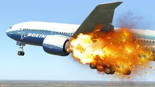 Engine On Fire | Emergency Landing After Takeoff | X-Plane 11