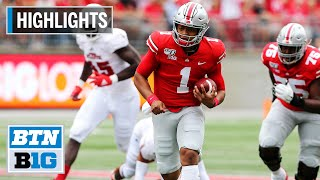 Highlights: Fields Impressive in Buckeye Debut | Florida Atlantic at Ohio State | August 31, 2019