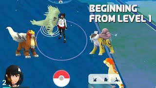 From level 1  catching legendary dogs [Pokemon Go New Raid Boss]