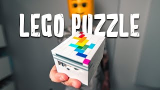 Solving a GENIUS LEGO Puzzle Box!! Level 9
