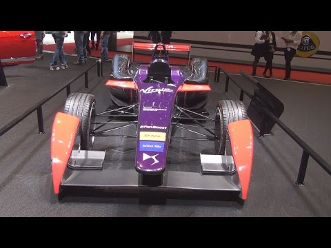 DS Virgin Racing Formula-E Team (2016) Exterior and Interior in 3D