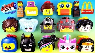2019 FULL WORLD SET McDONALD'S LEGO MOVIE 2 THE SECOND PART HAPPY MEAL TOYS EUROPE ASIA US UNBOXING