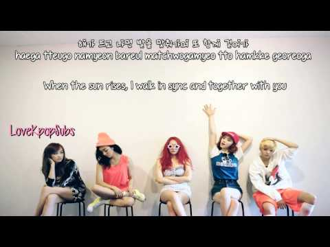 F(x) - Shadow [English subs + Romanization + Hangul] HD