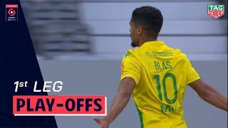 TOULOUSE FC - FC NANTES Highlights (1-2) / Play-offs First leg Ligue 1 Uber Eats 2020-2021