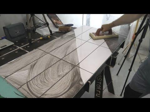 Как сделать качественную цементную затирку от А до Я ? Возможные  ошибки. Инструмент. photo