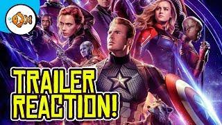 AVENGERS ENDGAME Trailer 2 REACTION!