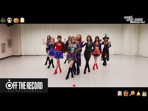 프로미스나인 (fromis_9) - LOVE BOMB Choreography (Halloween ver.)