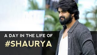 A Day in the Life Of Naga Shaurya-Special Video..