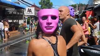 Songkran Celebration 2018 - Koh Samui - Lamai - Thailand