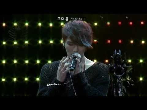 Kim Jaejoong 김재중 - Though I Loved You 사랑했지만 (2013 Mini Concert) [eng + rom + hangul + karaoke sub]