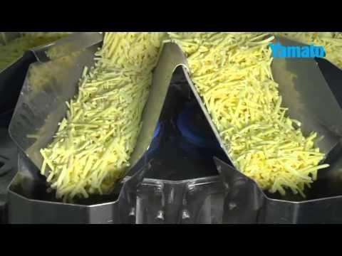 Mehrkopfwaagen für Reibekäse / Multihead weigher Grated Cheese