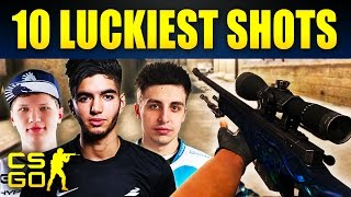 Top 10 Luckiest Shots In CS:GO History