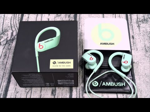 PowerBeats Ambush - Glow in The Dark Wireless Earbuds
